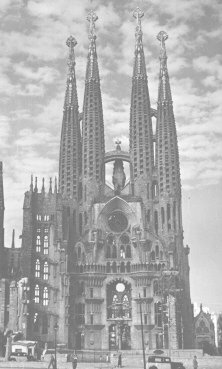 Goudi's Cathedral, Barcelona