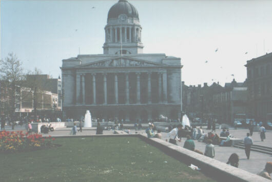 Nottingham Council House and Square